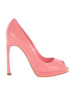 Dior Damen Peeptoes Kalbsleder Lammleder rosé - bei MYBESTBRANDS entdecken ✓