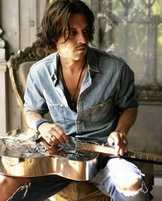 Johnny Depp - He marches to his own creative muse. Gotta love that.