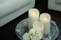 Luminair candels! The most realistic candles on the market