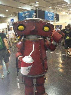 Bad Robot. View more EPIC cosplay at http://pinterest.com/SuburbanFandom/cosplay/...