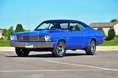 Very nice and clean 73 Plymouth Duster