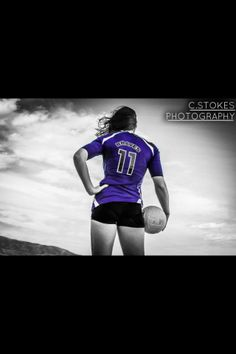 senior pictures volleyball