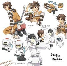 Anime version of wall-e.