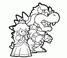 ice mario coloring pages - photo#18