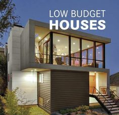Small budget house plans in india modern home design in small modern house designs low budget houses by modern small home low budget south indian house Container Home Designs, Container House Plans, Low Budget House, Home Budget, Modern House Plans, Modern House Design, Modern Houses, Bungalow Haus Design, Decoration Restaurant