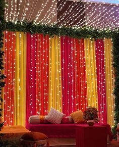 DIY Mehndi Decor, Colourful Dupattas, Mehndi Decoration, Wedding Decoration Ideas, DIY Decoration The Effective Pictures We Offer You About backyard wedding decorations A quality picture can tell you Desi Wedding Decor, Wedding Hall Decorations, Wedding Mandap, Backdrop Decorations, Punjabi Wedding Decor, Indian Wedding Stage, Diwali Decorations At Home, Backdrops, Wedding Mehndi