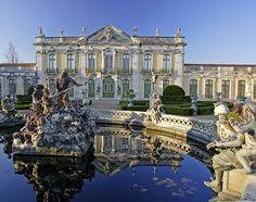 Palácio Nacional de Queluz - onde nasceu e morreu D.Pedro I do Brasil e D. Pedro IV de portugal