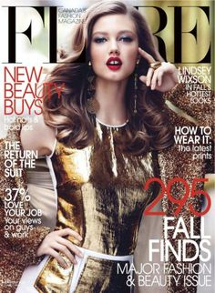 Lindsey Wixson Flare Cover 2012