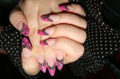 Nail art  Pizzo style