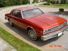 All GM full size cars were downsized for 1977. In a risky move that proved very fruitful for the car maker, the new designs were a hit. Even though the cars shed hundreds of pounds, interior room was improved over 1976. Here is an Impala Sport Coupe.