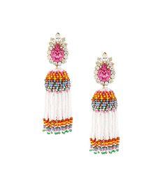 Shourouk Totem Beaded Tassel Earring