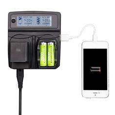 >> Click to Buy << LVSUN Universal Phone+AA+Camera Car/AC CGA-S008E DMW-BCE10 DB-70 Charger For Panasonic Lumix DMC-FS5,DMC-FS20,DMC-FX36,DMC-FX500 #Affiliate