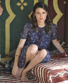 """Adriana Ugarte in """"El Tiempo entre Costuras"""" , The time in Between."""