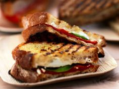 Grilled Goat Cheese Sandwich  Vegetarian Grilling