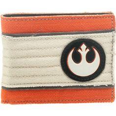 Collectables - Starwars Rebel Alliance Bi-Fold Wallet - Buy Online Australia Beserk #star wars #rebel alliance
