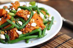 Anja's Food 4 Thought: Dukkah Spiced Pumpkin Salad