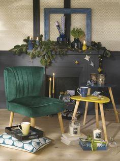 Tati Deco Collection by Cristina Cordula Paulette Magazine, Deco Design, Table Decorations, Tati, Living Room, Collection, Furniture, Xmas, Home Decor