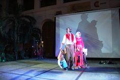 Una obra de pantomima abrió la feria en Cartagena