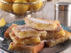 Lemon Squares | Trisha Yearwood via Food Network