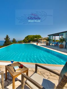 Glyfada Beach Villas and Restaurant have 16 Villas in Paxos with own terrace, two swimming pools, two restaurants and Tennis Court which located on the seafront near the village of Loggos, Paxos. #restaurant #villas Holidays #holidayhomes #vacation #vacationhome #vacationvibes #holidayvibes #villas #holidayrental #holidayresort #holidayrest #rentalvilla #familyvacation #familyrestaurant #familyresort Family Resorts, Beach Villa, Holiday Resort, Luxury Villa, Villas, Terrace, Swimming Pools, Tennis, Restaurants