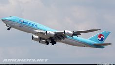 Photo taken at Atlanta - Hartsfield-Jackson Int (The William B Hartsfield / Municipal / Candler Field) (ATL / KATL) in Georgia, USA on May Boeing 747 400, Korean Air, Commercial Aircraft, Us Air Force, Air Travel, Military Aircraft, South Korea, Airplanes, Vintage Posters
