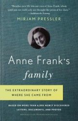 Anne Frank's Family...This fascinating history of Anne Frank and the family that shaped her is based on a treasure trove of thousands of letters, poems, drawings, postcards, and photos recently discovered by her last surviving close relative, Buddy Elias, and his wife, Gerti.....I will be buying this!