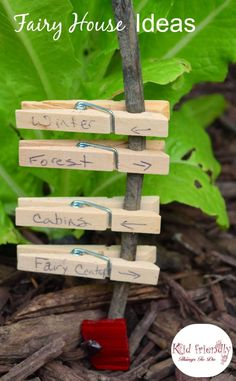 Fairy Garden Ideas for kids - http://KidFriendlyThingsToDo.com