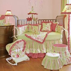 Hoohobbers Leaves Crib Bedding Collection