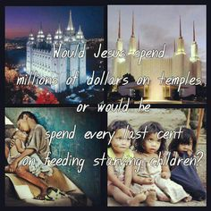 How would Jesus spend his time and money?