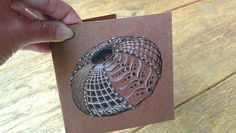 Urchin doodle card by Deborah's Perspective   Flickr - Photo Sharing!