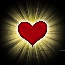 Hjertemod. Tag hjerte med ind i mørket og det vil stråle.