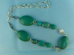 Turquoise Necklace by OswestryJewels on Etsy