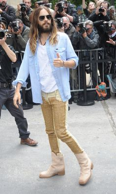 10 Times Jared Leto Looked Like a Fashion Girl in 2014 | StyleCaster