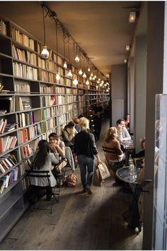 My idea of a cozy bookstore