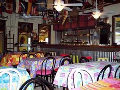Step inside the Caribbean-themed restaurant, and you'll feel as if you've entere. - Step inside the Caribbean-themed restaurant, and you'll feel as if you've entered a tropical pa - Tropical Decor, Step Inside, Great Stories, Caribbean, About Me Blog, Restaurant, Couch, Furniture, Home Decor