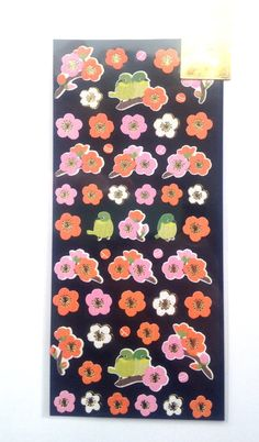 Plum Blossom Stickers Japanese Washi Paper by FromJapanWithLove