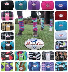 Professional's Choice Polo Wraps! So many colors! Which would you choose for your horse?