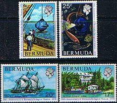 Bermuda 1976 Biological Station Set Fine Mint