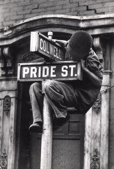 "corallorosso: ""Pride Street Photo by W. Eugene Smith, 1955 """