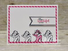 Beautiful You, Spotlight with Lisa, Stampin� Up!, card, paper, craft, scrapbook, rubber stamp, hobby, how to, DIY, handmade, Live with Lisa, Lisa�s Stamp Studio, Lisa Curcio, www.lisasstampstudio.com