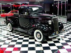 1937 Chevrolet Pickup Truck Black 6 Cylinder Manual 2 wheel drive | Classic Trucks | Bonner Springs, KS