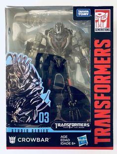 Takara Tomy Transformers Movie Studio Series Deluxe Crowbar WAVE 1 Hasbro USA    eBay