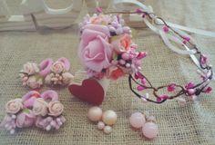 set - wreath +4 gum pink