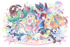 Pokémon XY by ココロコ on pixiv