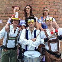 Book our Germany themed walkabout music acts. You can hire these performers for shows and events in the UK.