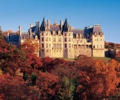 Back of the Biltmore House