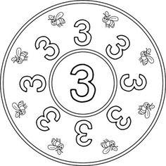 mandala-zahlen-drei