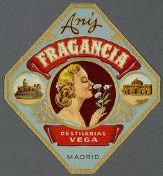 006-Etiquetas de bebidas. Figuras y retratos de mujeres-1890-1920- Biblioteca Digital Hispánica