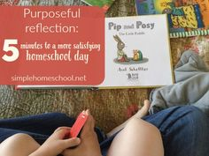When you ask your kids about their day, what do they say? Melissa shows us how to use purposeful reflection and have a more satisfying homeschool day.
