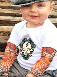 love the tatoo shirt/ Triple D